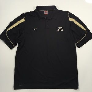 Nike Team | Army West Point Black Fit Dry Polo